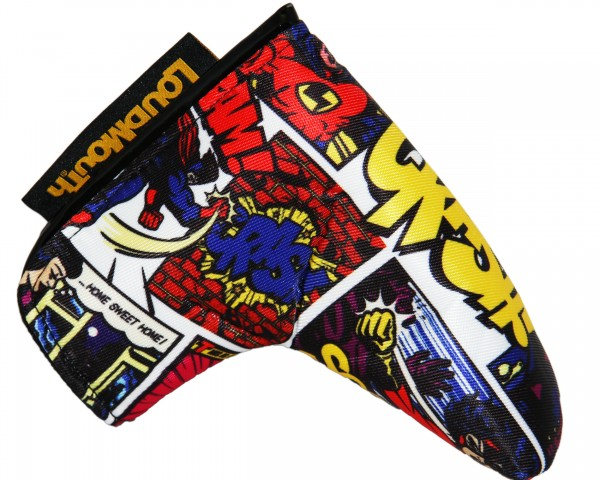 "Loudmouth Blade Putter Cover ""CRASH"""