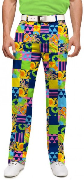 "Loudmouth Men's Golf Trousers ""LM Greatest Hits Vol.1"""