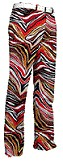 "Loudmouth Damen-Hose, lang ""Tiger Eye"""