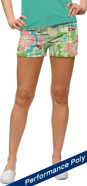 "Loudmouth Damen Mini-Shorts ""Baffing Spoon StretchTech"""