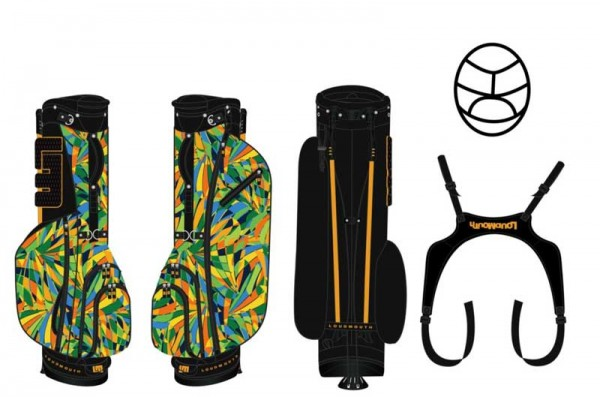 Loudmouth Stand Bag-Peacock