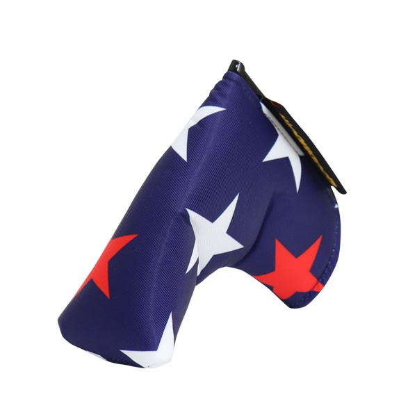 """Loudmouth Blade Putter Cover """"Superstar Navy"""""""