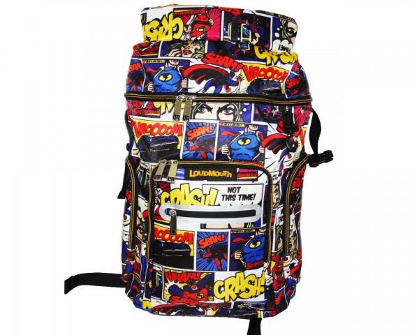 "Loudmouth Bag Pack ""CRASH"""