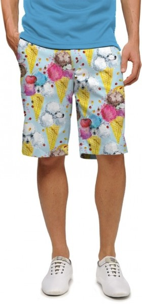 "Loudmouth Herren Short ""French Poodle Sundae StretchTech"""