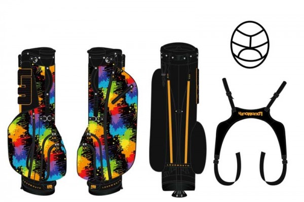 Loudmouth Stand Bag-Paint Balls