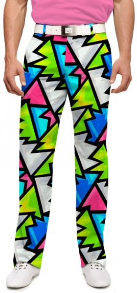 "Loudmouth Men's Golf Trousers ""Crystal"""