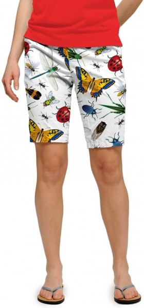 "Loudmouth Woman Short ""Big Bugs StretchTech"""