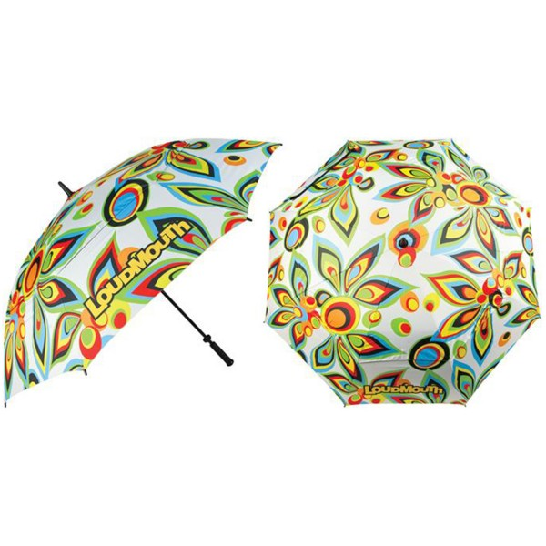 Loudmouth Regenschirm-White Shagadelic