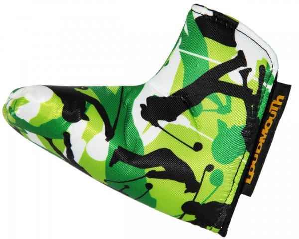 """Loudmouth Blade Putter Cover """"Swingers Camo"""""""