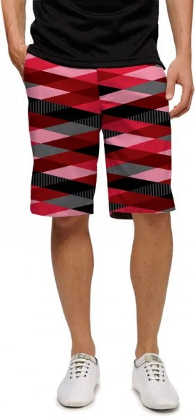"Loudmouth Herren Short ""Fore Shades of Red"""