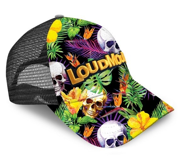 Loudmouth Skull Grotto Trucker Cap