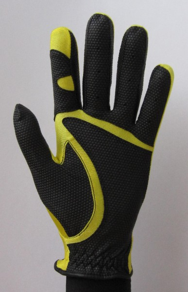 Golf glove Fit 39 Yellow / Black