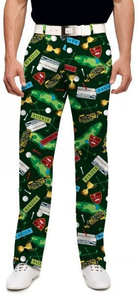 "Loudmouth Men's Golf Pants "" Swilcan Burn StretchTech"""