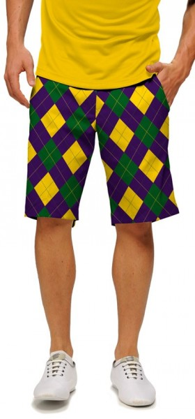 "Loudmouth Men's Golf Short ""Carnivale StretchTech"""