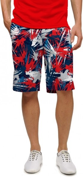 """Loudmouth Herren Short """"Icicles StretchTech"""""""
