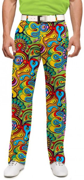 "Loudmouth Men's Golf Trousers ""Fun House"""