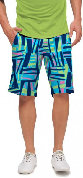 "Loudmouth Herren Short ""Tiki Bar Blue"""