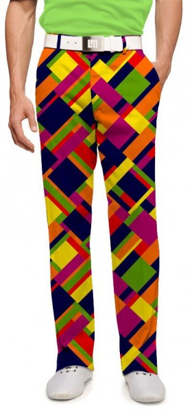 """Loudmouth Men's Golf Trousers """"Wreck Tangles"""""""