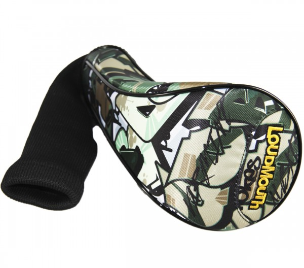 """Loudmouth Driver Headcover """"Tags Camo"""""""