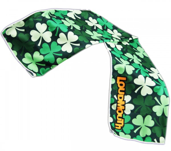 """Loudmouth Cooling Towel """"Sham Totally Rocks"""""""