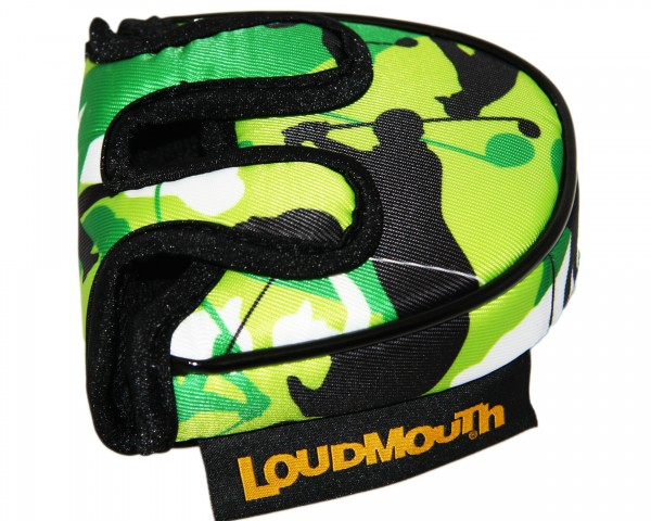 """Loudmouth Mallet Putter Cover """"Swingers Camo"""""""