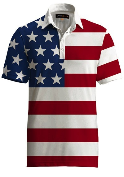 "Loudmouth Fancy Men's Shirt ""Stars & Stripes"""