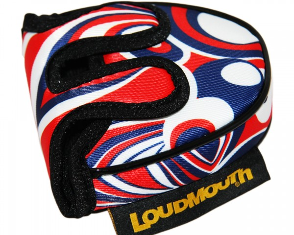 "Loudmouth Mallet Putterhaube ""Shagadelic Red"""