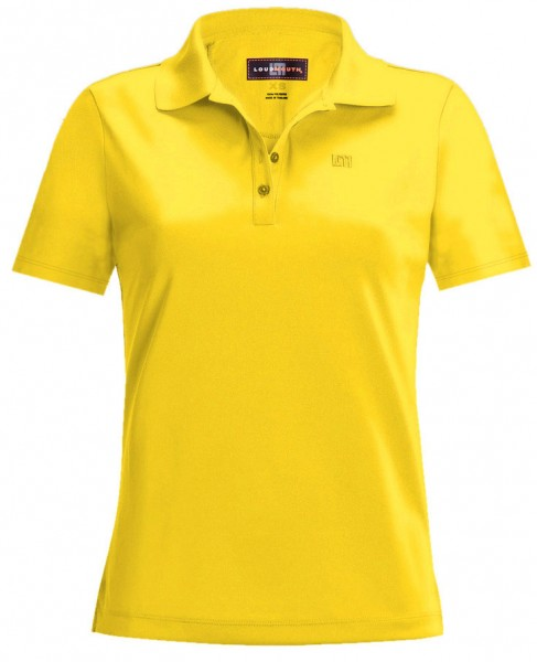 "Loudmouth Damen Polo ""Lemon Chrome"""