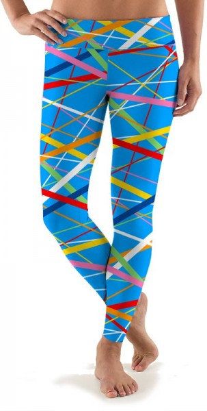 "Loudmouth Women Sport Leggings ""Stix"""