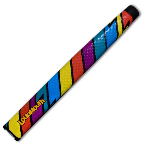 Loudmouth Jumbo Putter Grip-Captain Thunderbolt
