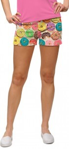 "Loudmouth Damen Mini-Shorts ""Doughnuts"""