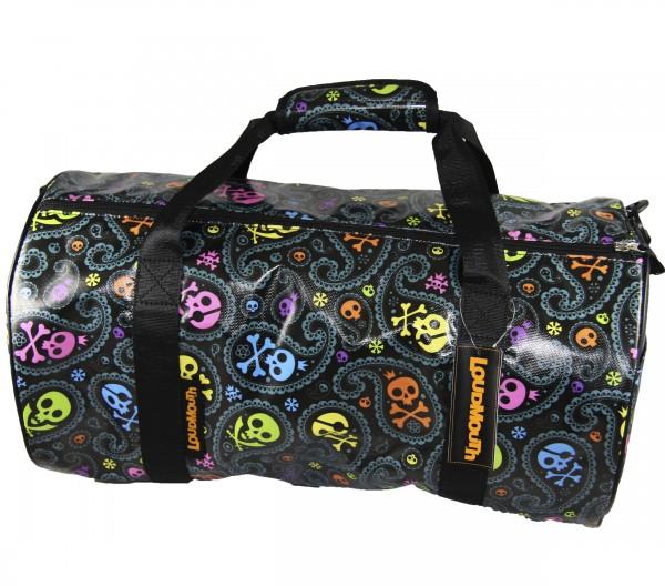 Loudmouth Boston Bag-Jolly Roger Black-769-994