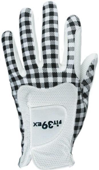 Handschuh Fit 39 Check Black/Weiß