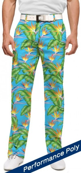 "Loudmouth Men's Golf Pants "" Tahiti StretchTech"""
