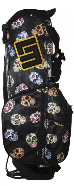NEW Loudmouth 8.5 inch Stand Bag Sugar Skulls