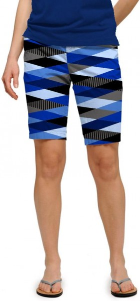 "Loudmouth Woman Short ""Fore Shades Of Blue"""