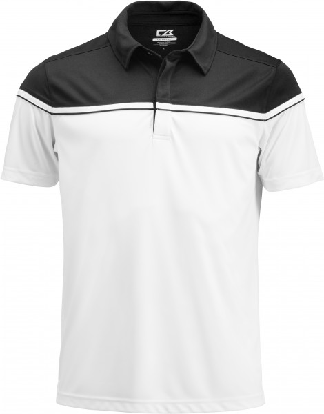 Sunset Polo Herren Black
