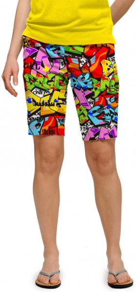 "Loudmouth Woman Short ""Tags"""