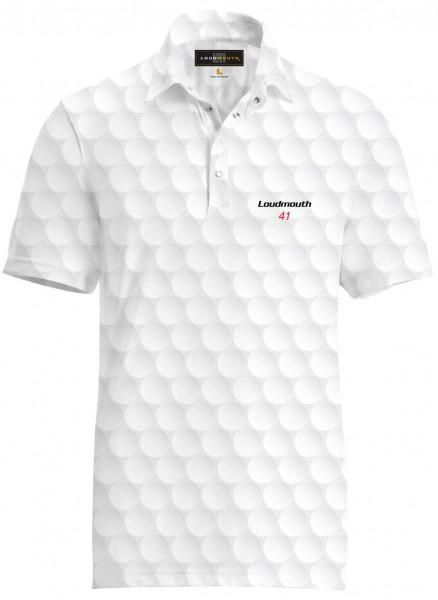 "Loudmouth Fancy Men's Shirt ""Big Golf Ball"""