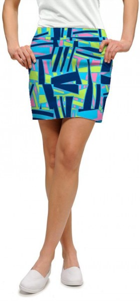"Loudmouth Damen-Rock ""Tiki Bar Blue"""