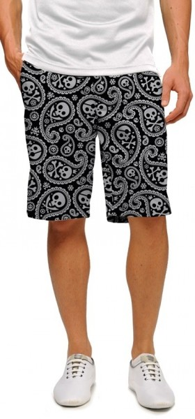 "Loudmouth Men's Golf Short ""Shiver Me Timber StretchTech"""