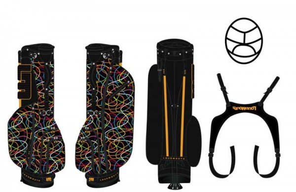 Loudmouth Stand Bag-Scribblz