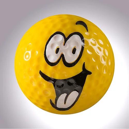 "magball-magnetic Deco-Golf Ball ""Laughing Magball No.2"""