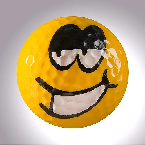 "magball-magnetic Deco-Golf Ball ""Laughing Magball No.3"""