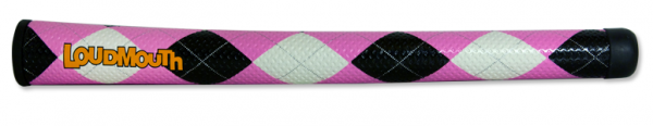 Swing Grip-Pink & Black Argyle
