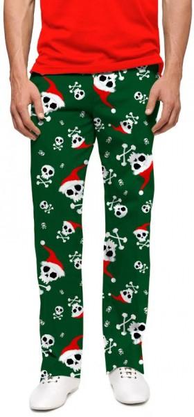 "Loudmouth Men's Golf Trousers ""Jingle Bones"""