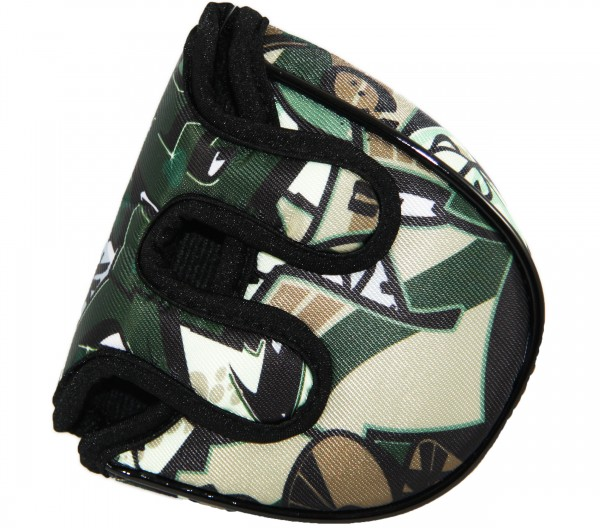 """Loudmouth Mallet Putter Cover """"Tags Camo"""""""