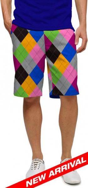 "Loudmouth Men's Golf Short ""Pargyle"""