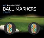 LM Ballmarker für Puttergriffe-Just Peachy-Standard