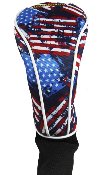"Driver Headcover ""Antique Flag"" Design"